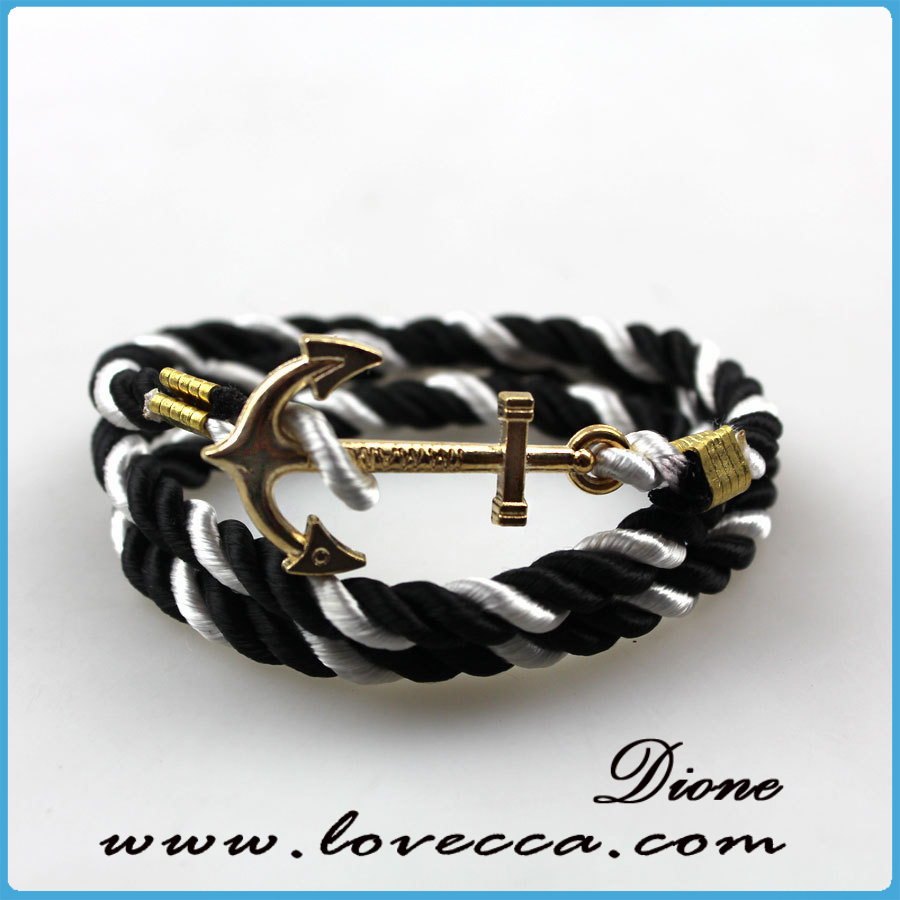 Contemporary Fish Mens Hook Bracelet Whole